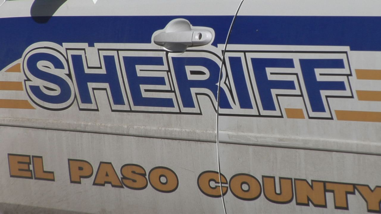 El Paso County Sheriff vehicle