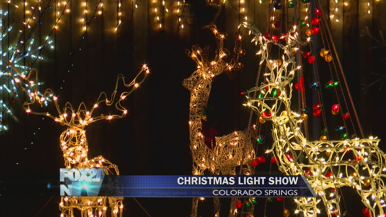 Colorado Springs Christmas.Christmas House Lights Up In Old Colorado City