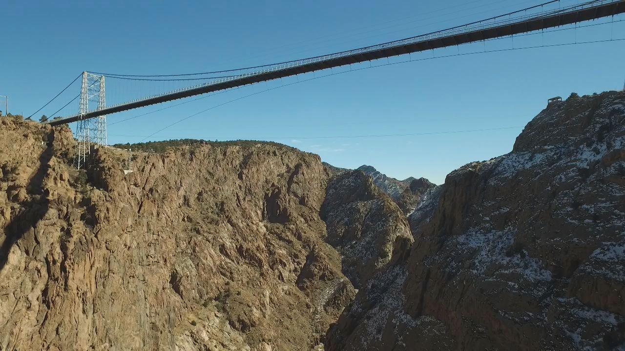 The Royal Gorge bridge as seen by drone / FOX21 News file photo