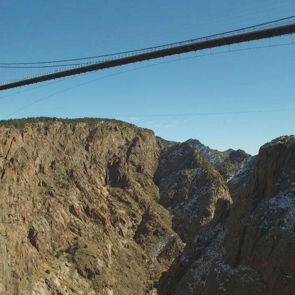 drone royal gorge bridge canyon ray harless_149199