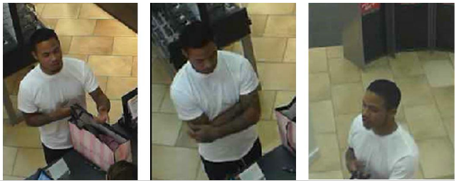 Deputies say this man used stolen credit card information at four Colorado Springs stores Tuesday. _ El Paso County Sheriff's Office_194217