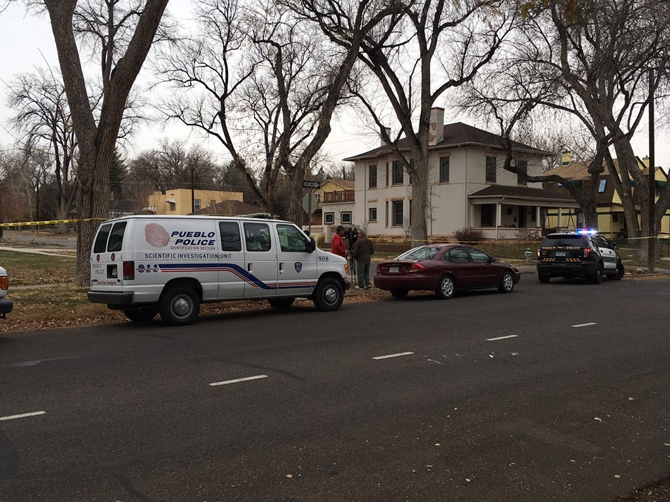 Pueblo police are investigating a fatal shooting on West 23rd Street. _ Pueblo Police Department_208181