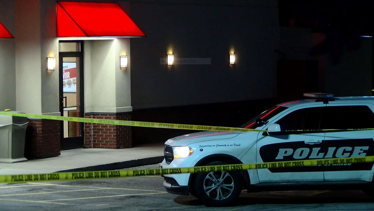 Deputies are investigating after Colorado Springs police shot a suspect at an Arby's in western Colorado Springs Thursday night. _ Colin Mihali_215664