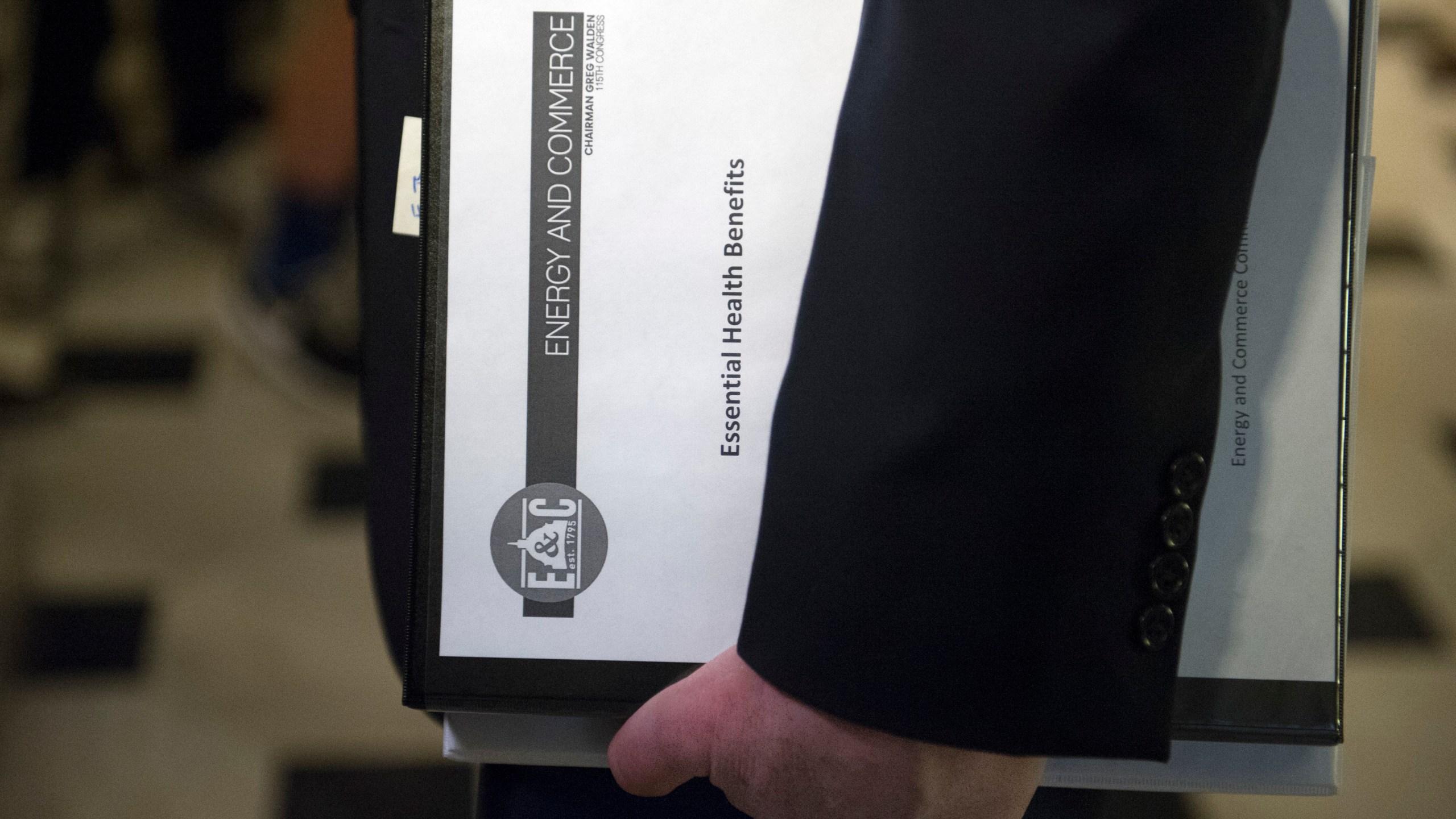 APTOPIX Congress Health Overhaul_242670