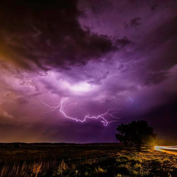 Lightning over Highway 94 near Ellicott Thursday night _ Dave Hodge_178529