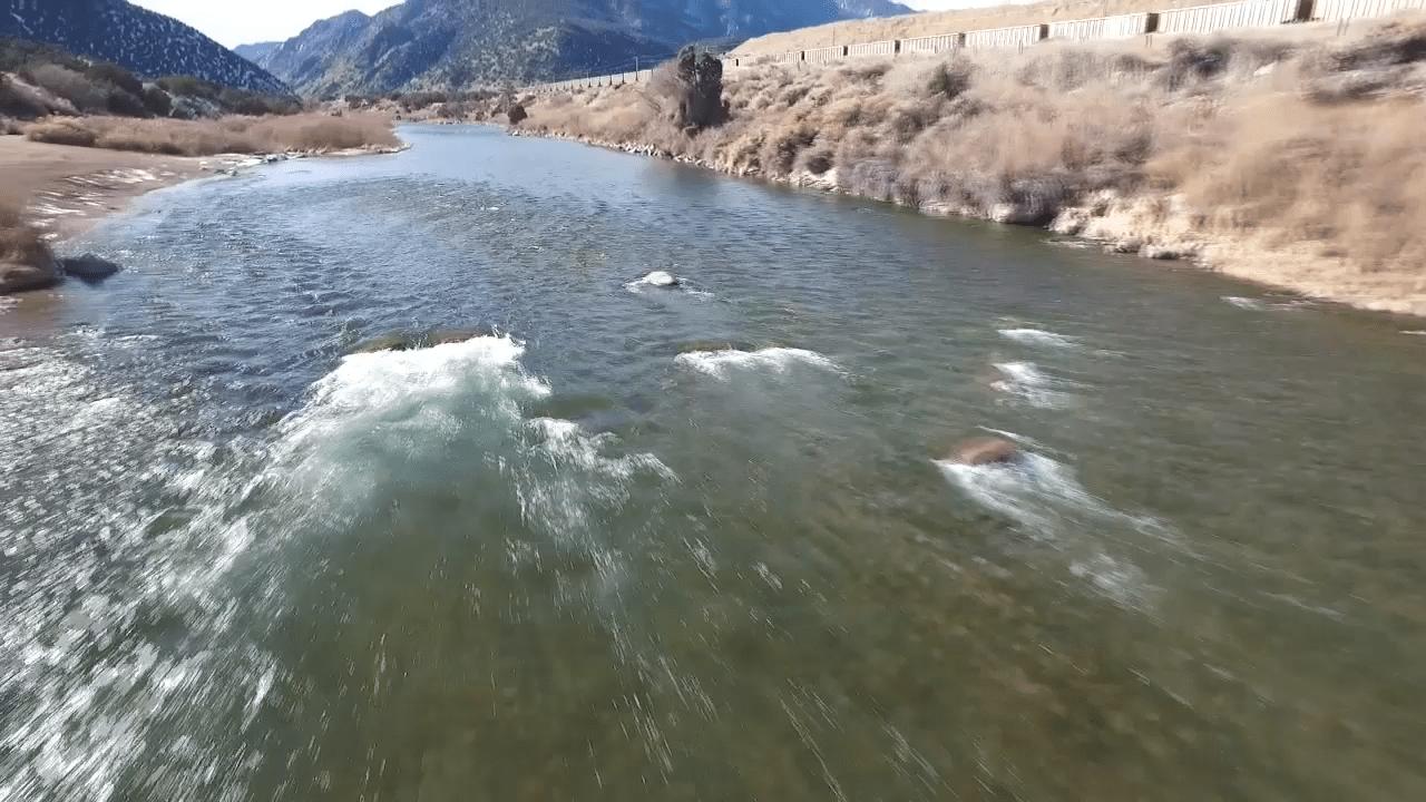 arkansas river drone water rafting jeff womack_149721