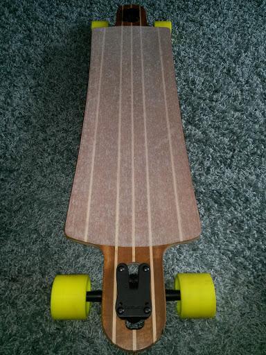 Photo of longboard . (Courtesy: Aidan Pratte)