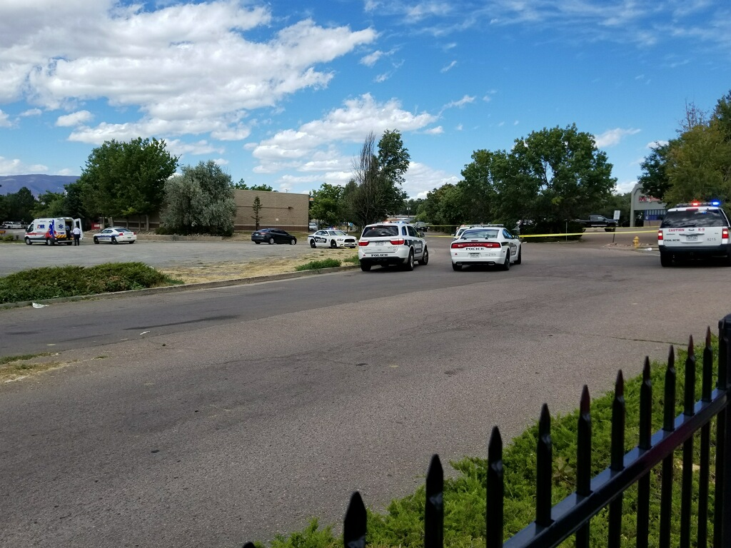 Two students were injured in a shooting across the street from Doherty High School Friday afternoon. / Trent Golden - FOX21 News