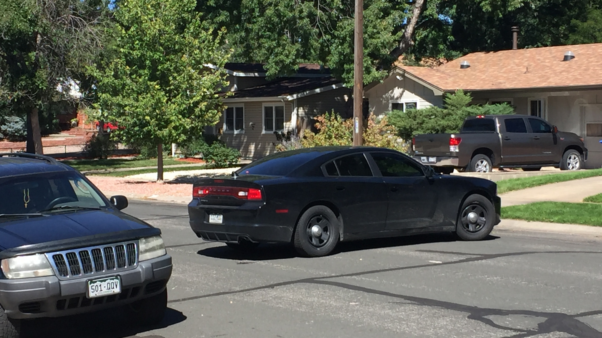 A possible explosive device was found in a home on Wynkoop Drive in Colorado Springs Friday afternoon. _ Mike Duran - FOX21 News_313713