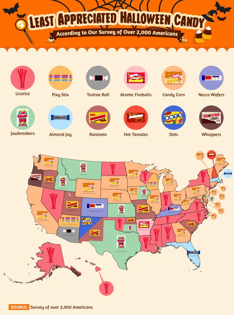 Map courtesy Halloween Express