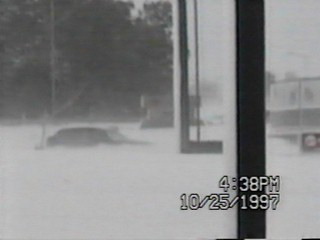 The blizzard of 1997 outside the National Weather Service office in Pueblo. _ Courtesy National Weather Service_200533