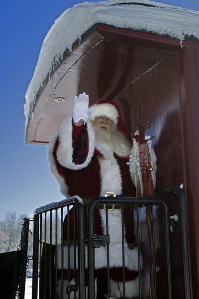 Cumbres & Toltec Scenic Railroad's Santa Train