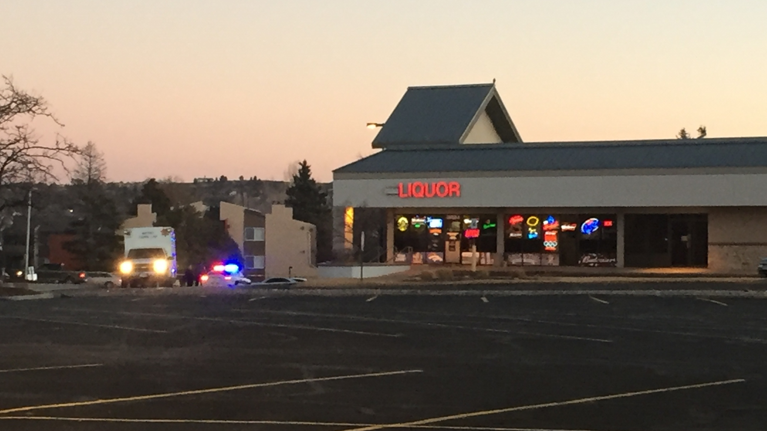 A clerk was killed in a shooting in the parking lot of Empire Liquor in Colorado Springs late Wednesday night. _ Macy Egeland - FOX21 News_228712
