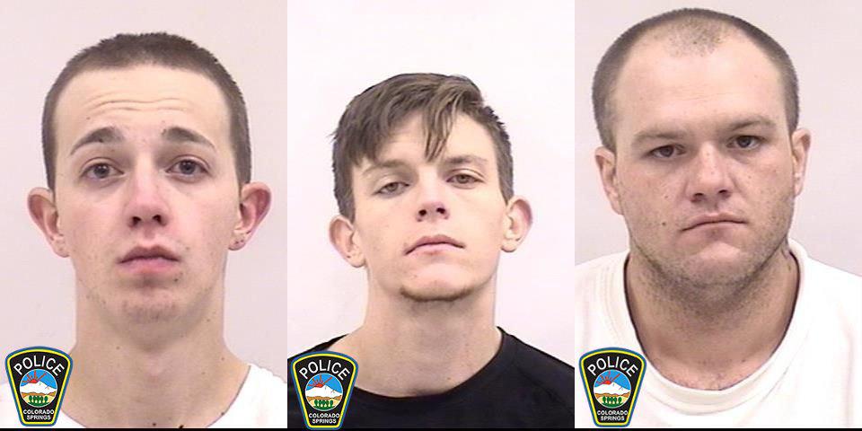 Aaron Adamson, Adam Zwetzig, and Nicholas Didio Colorado Springs Police Department