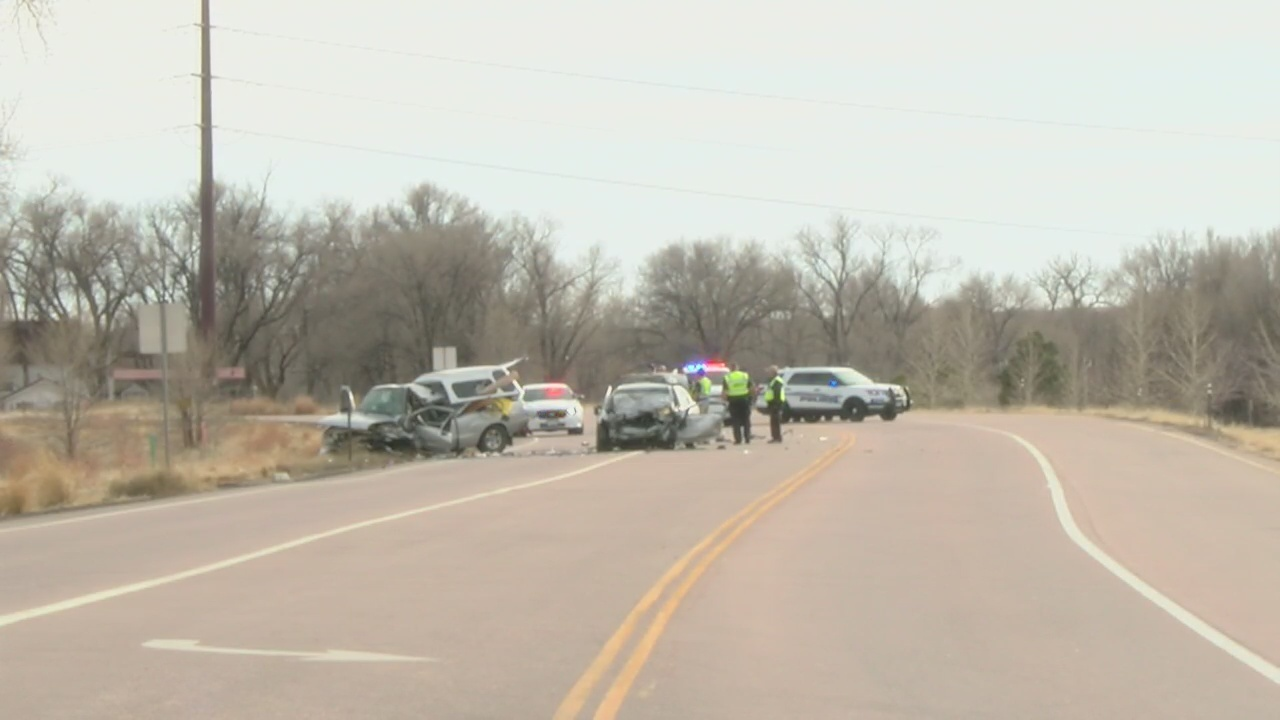 Two killed in Highway 85 crash