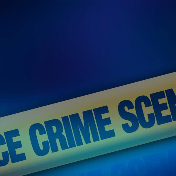 police lights crime scene homicide death murder investigation tape