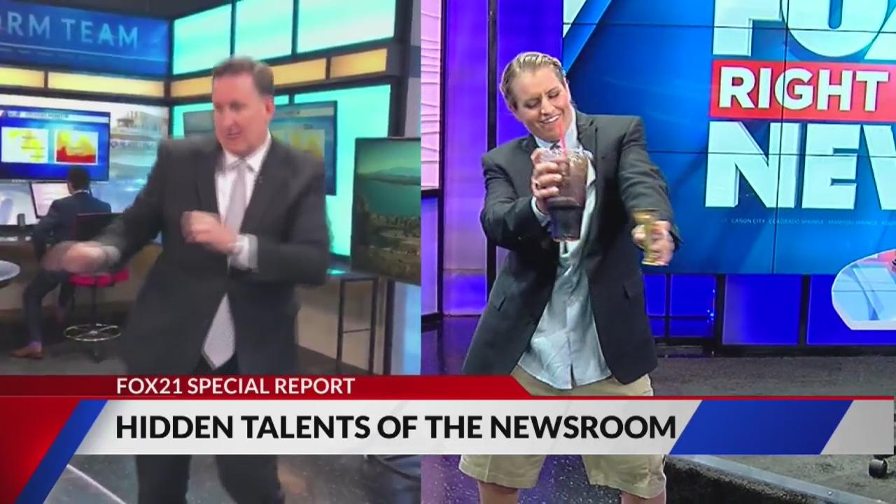 Hidden talents of the FOX21 newsroom