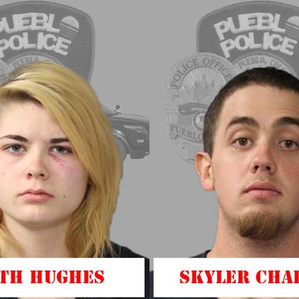 Faith Hughes and Skyler Chapman Pueblo Police Department