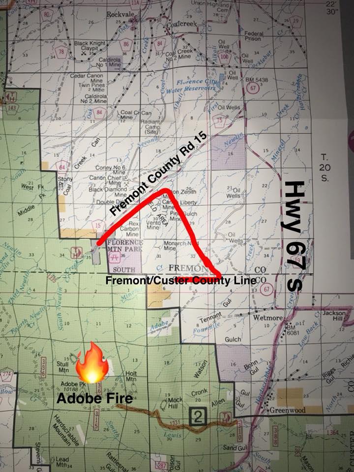 Adobe Fire pre-evac