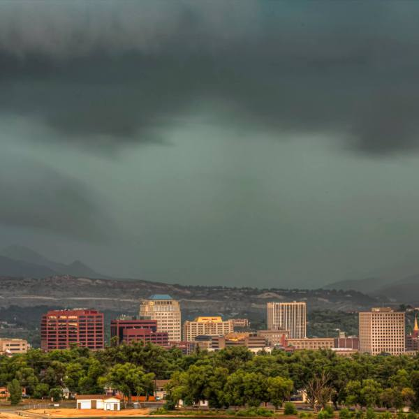 Storm over CoSprings