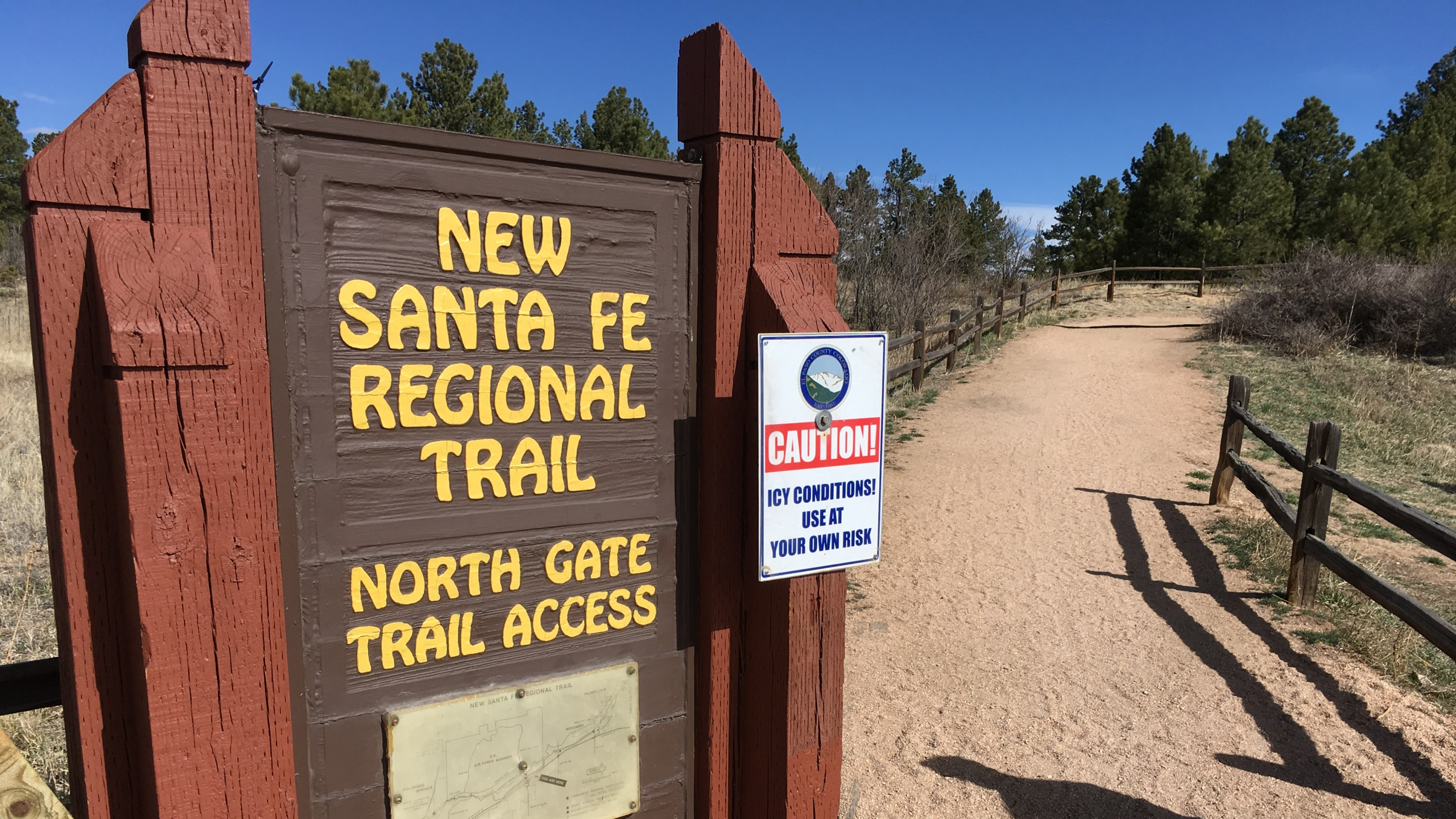 Deputies are investigating after a body was found along the Santa Fe Trail on the Air Force Academy Wednesday morning. Paula Buck - FOX21 News