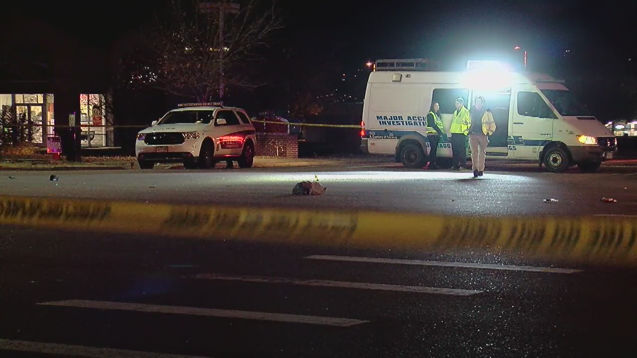 A pedestrian was killed in a crash at the intersection of Academy Boulevard and Astrozon Boulevard Sunday night. FOX21 News
