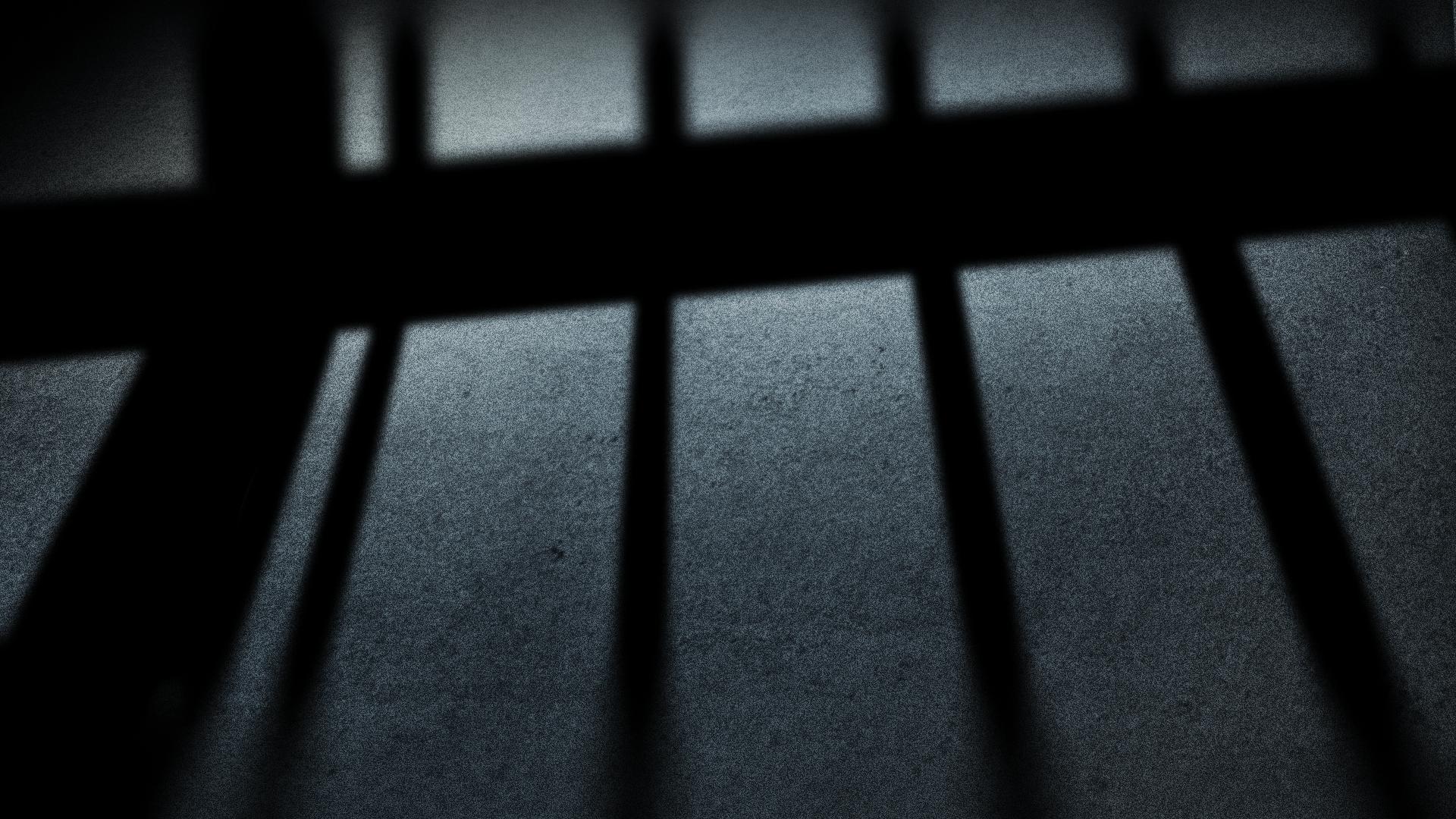 jail prison bars crime court sentencing graphic