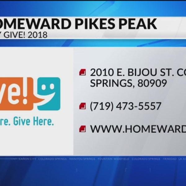 Give! 2018: Homeward Pikes Peak