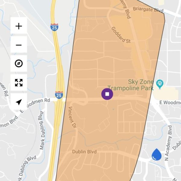 Colorado Springs Utilities reporting outage