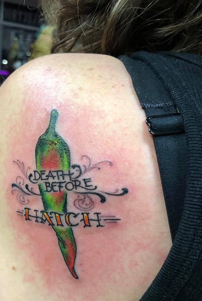 Esgar tattoo