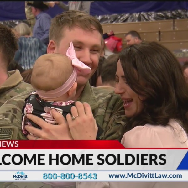 100 soldiers return home to Fort Carson
