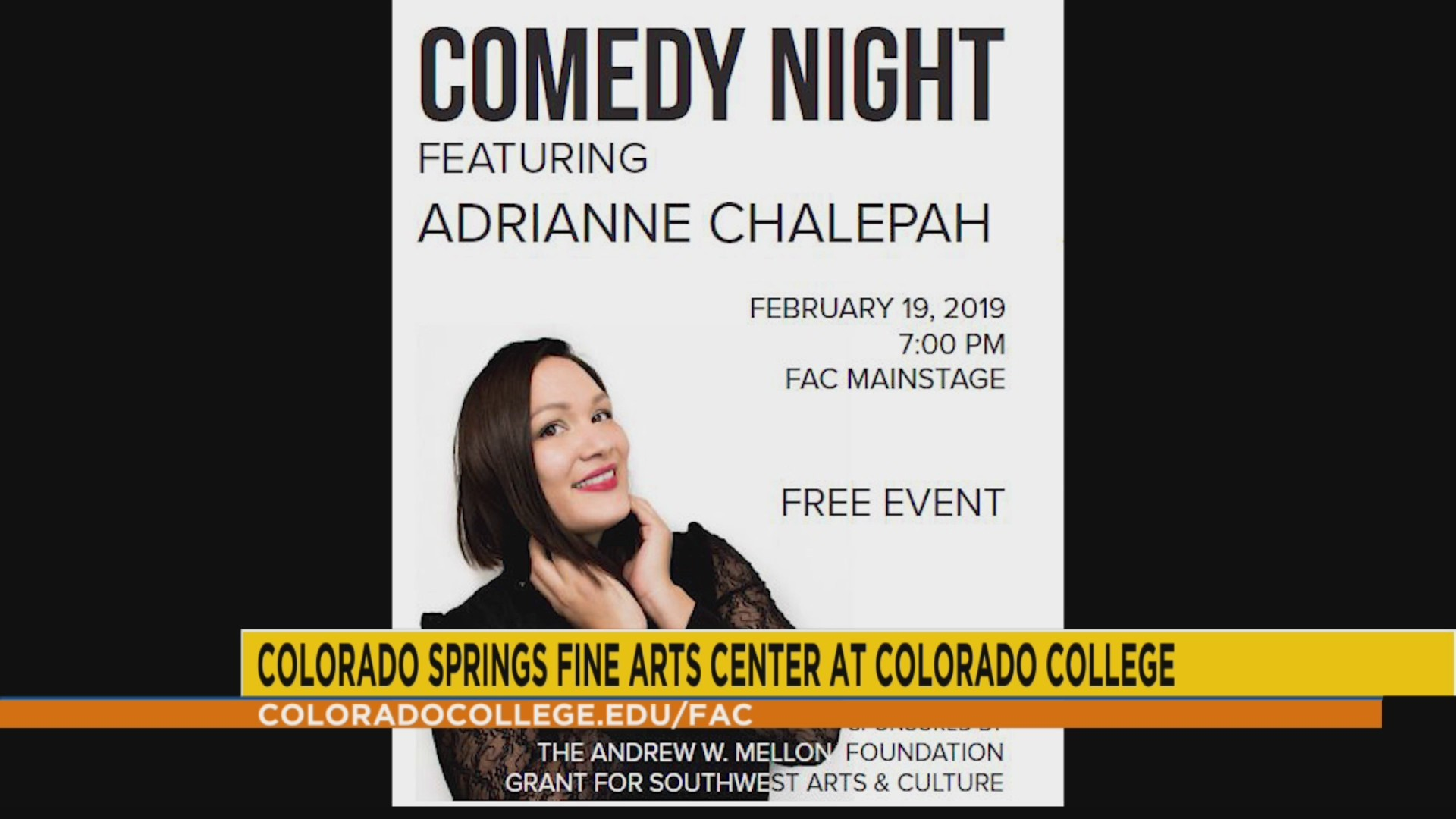 Comedy night at the FAC