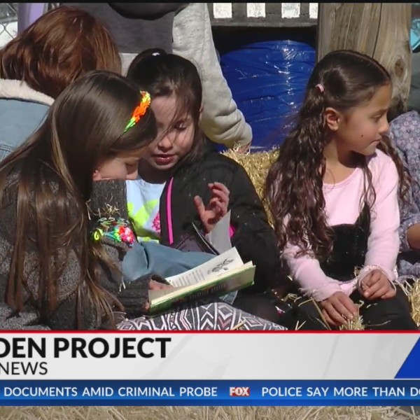 Penrose Elementary gets new grant, supplies for gardening program