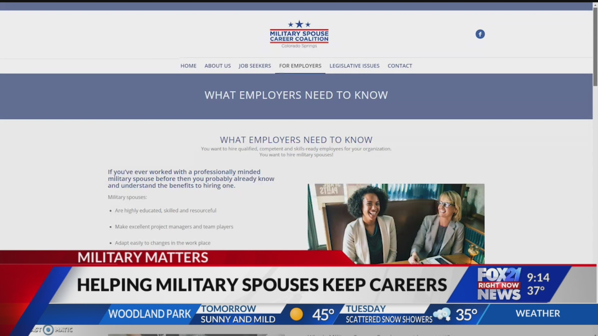 Organization paving the way for military spouse's careers