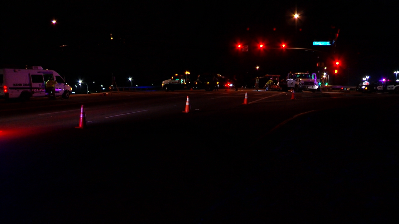 One person was killed and another was seriously injured in a crash on Academy Boulevard early Friday morning. Paula Buck - FOX21 News