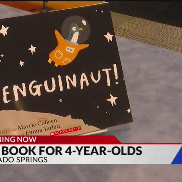 Colorado Springs libraries offering free book to 4-year-olds