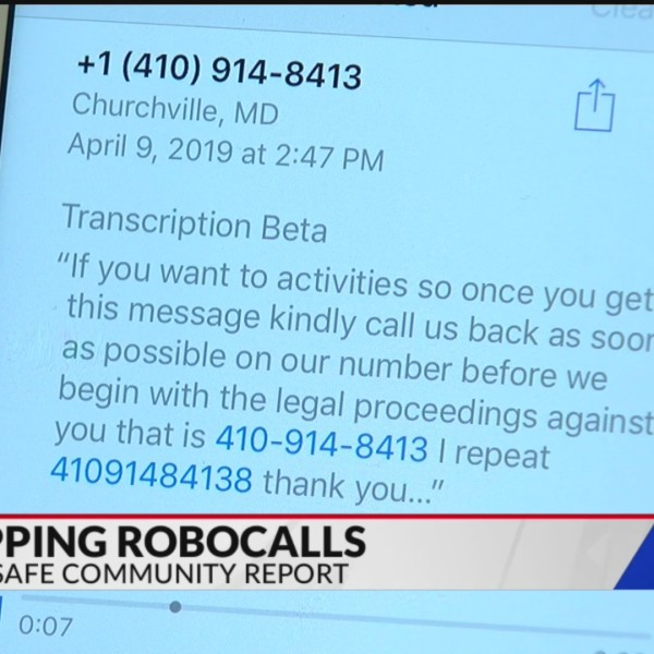 Cyber Safe Community Report: Robocalls