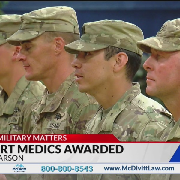 Eight Fort Carson soldiers earn Top Medic badge