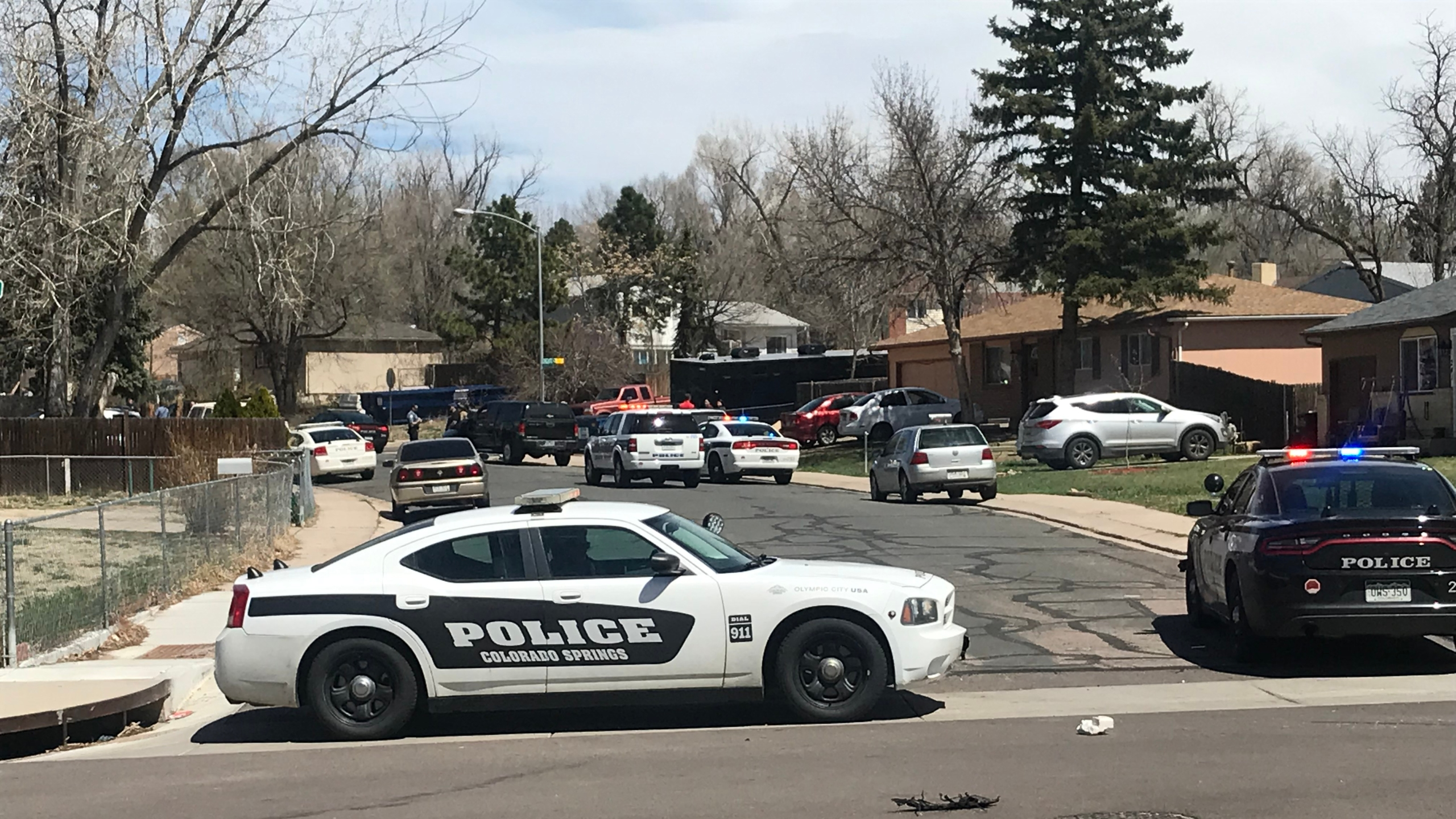 No one was injured when an officer or officers fired shots during an arrest on Longfellow Drive Monday. Mike Duran - FOX21 News
