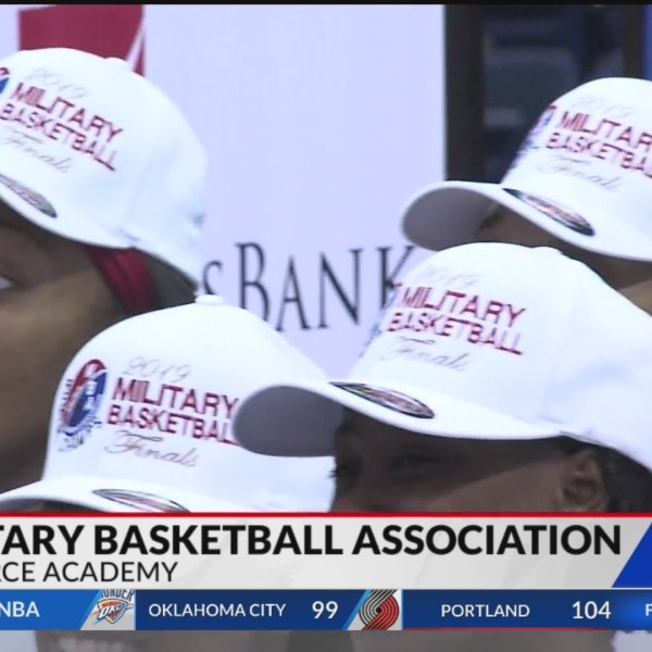 National Military basketball tournament hosted at Air Force Academy