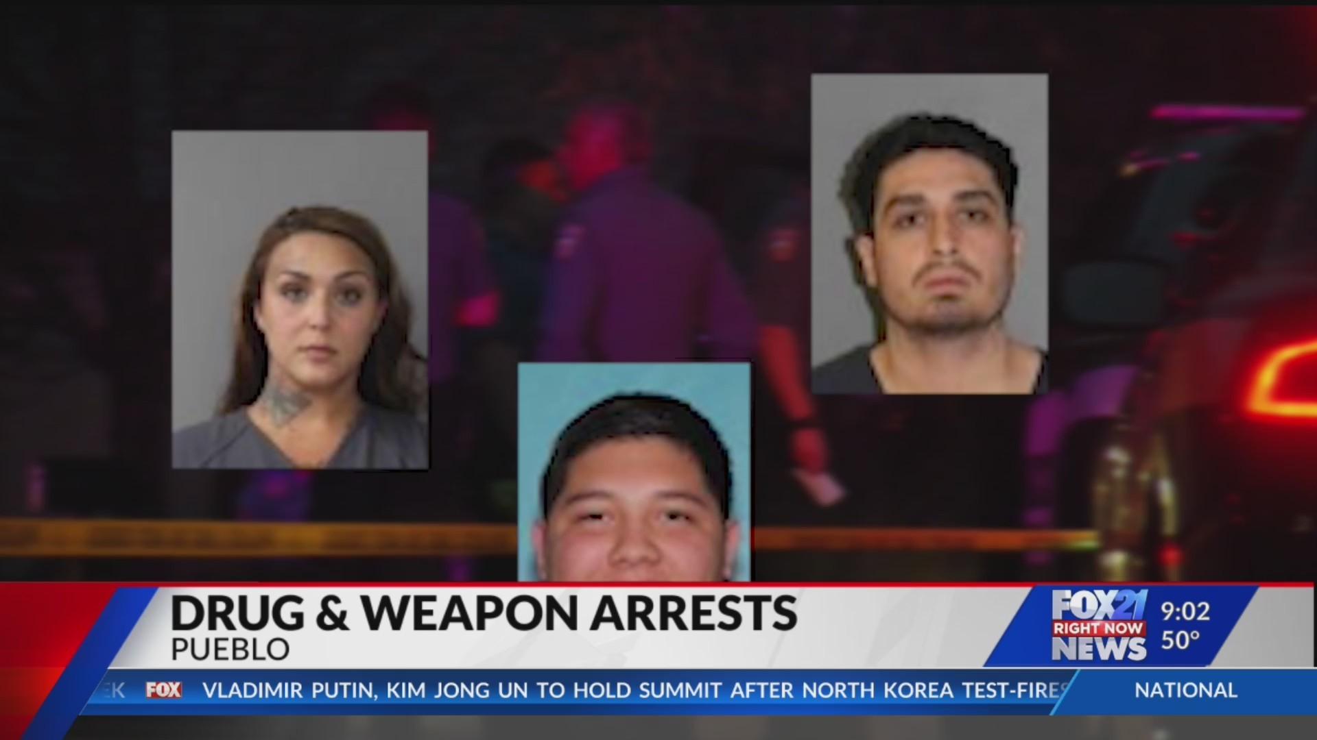 Pueblo Police, along with other agencies, make major drug