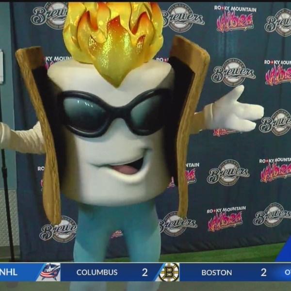 Rocky Mountain Vibes debut Toasty mascot
