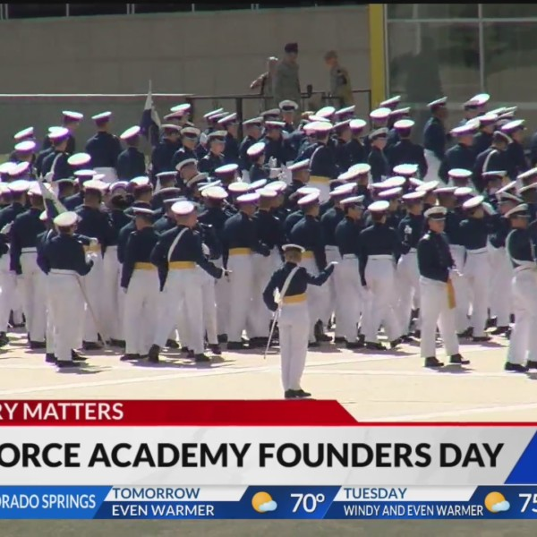 USAFA cadets celebrate legacy and future with Founders Day parade