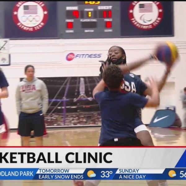 USA Basketball hosts youth basketball clinic