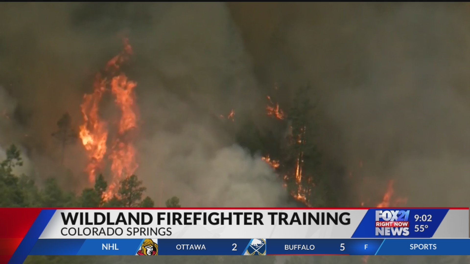 Firefighters train for upcoming southern Colorado wildfire