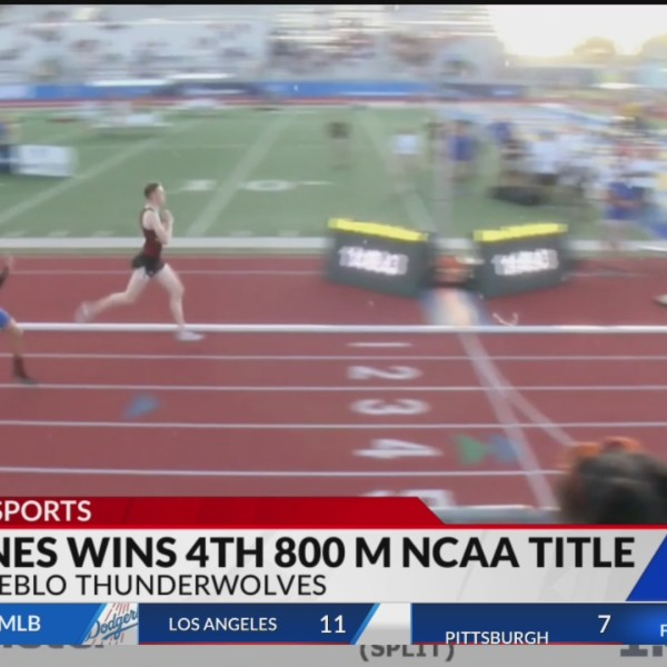 CSU-Pueblo's Stains wins his fourth 800m national title