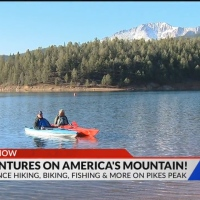 Experience hiking, biking, fishing and more on Pikes Peak this summer