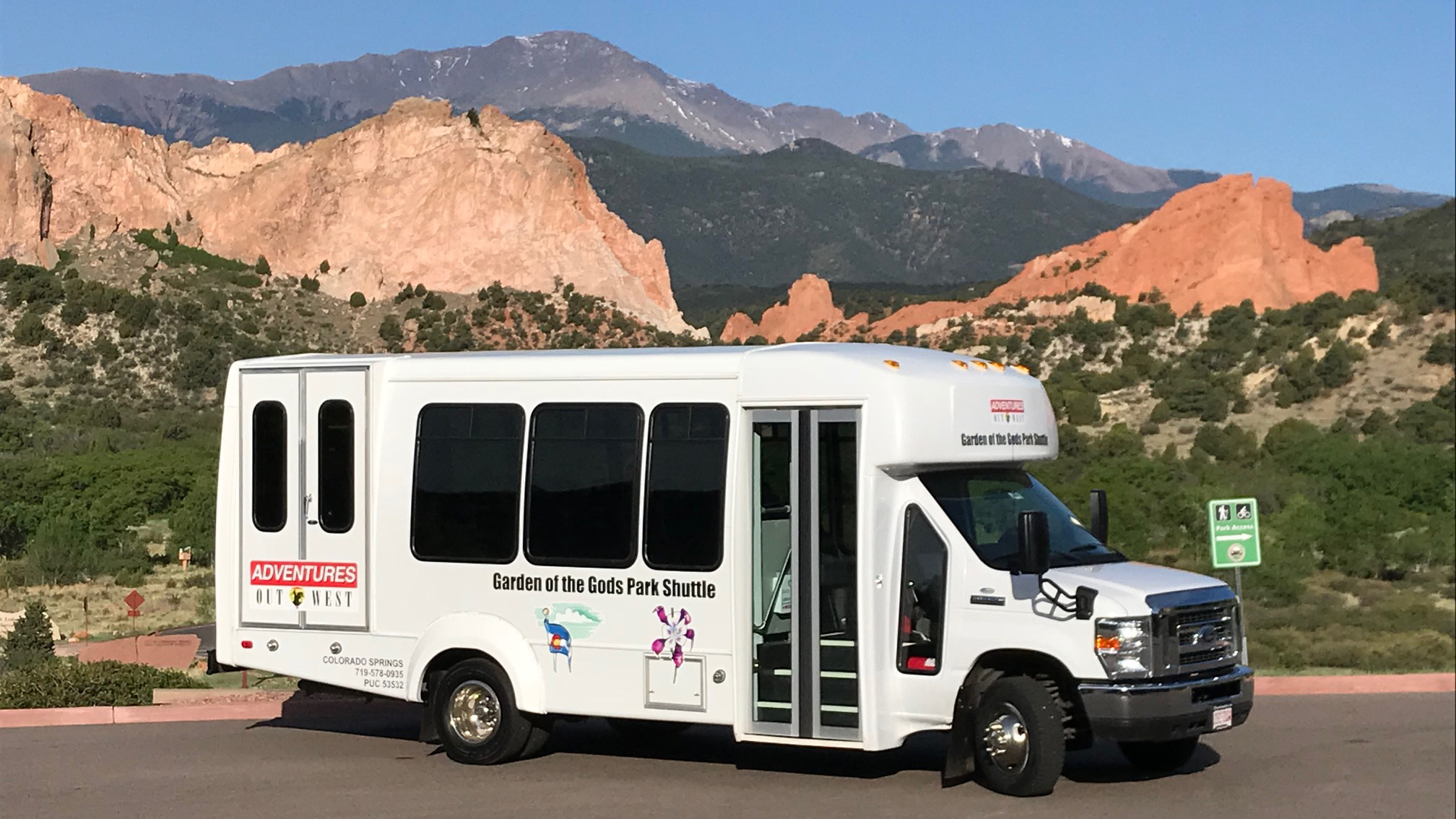 The city of Colorado Springs is once again offering a free shuttle at Garden of the Gods Park. Photo courtesy City of Colorado Springs