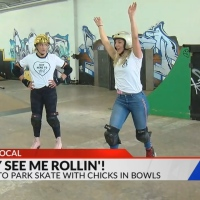 Learn to park skate with Chicks in Bowls