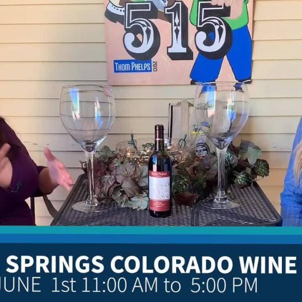 Manitou Springs Colorado Wine Festival